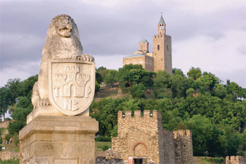 Medieval city of Veliko Tarnovo and its Tsarevets Castle