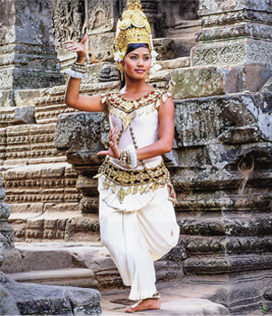 Apsara Dancer, Cambodia