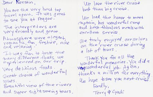 Letter Of Appreciation For Job Well Done from www.kerstinsdeaftravel.com