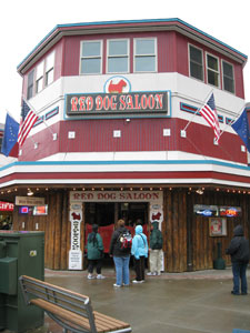 Famous Historic Red Dog Saloon in Juneau